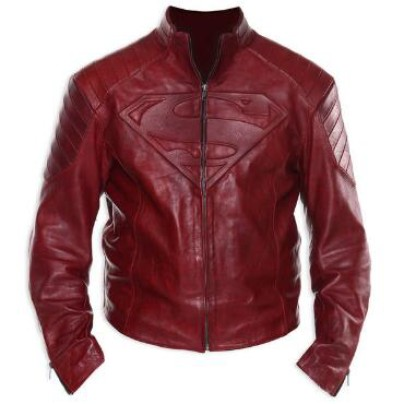 Superman Adult Leather Jacket by UD Replicas